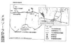 メガソーラ計画図