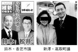 鈴木・香芝市議 新澤・高取町議