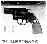 本紙川上の襲撃の使用拳銃