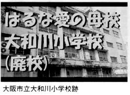 大阪市立大和川小学校跡